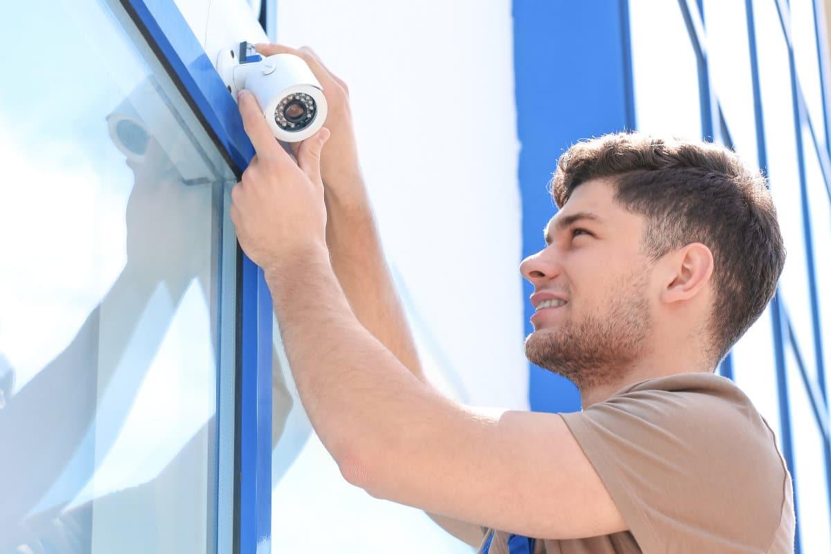 camerabewaking winkel voorbeeld